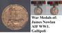 Thumb war medals james nowlan