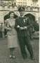 Thumb ken with cynthia on hic corination day for his d.f.c winsor house 26 2 1947