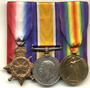 Thumb ww1 medals set