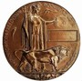 Thumb commemorative plaque     dead man s penny