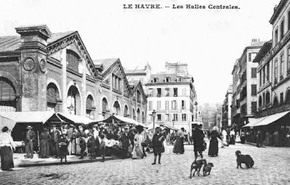 Profile pic senior c w photo of wifes street le havre 1900 halles centrales