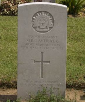 Profile pic laverack  merton bolton  headstone photo kranje war cemetery