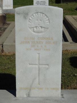 Profile pic headstone  jh dolby sn 20741