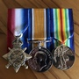 Thumb walters  stanley edward hope   replica medals