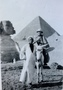 Thumb anne donnell s photo   jan 1916 the pyramid  the sphinx  the arab  the donk   myself