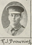 Thumb jim  browning one of the soldiers photographed in the queenslander pictorial supplement to the queenslander 1917