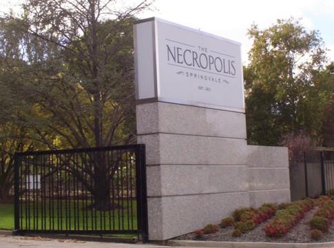 Normal springvale necropolis