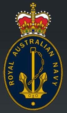 Profile pic royal australian navy logo