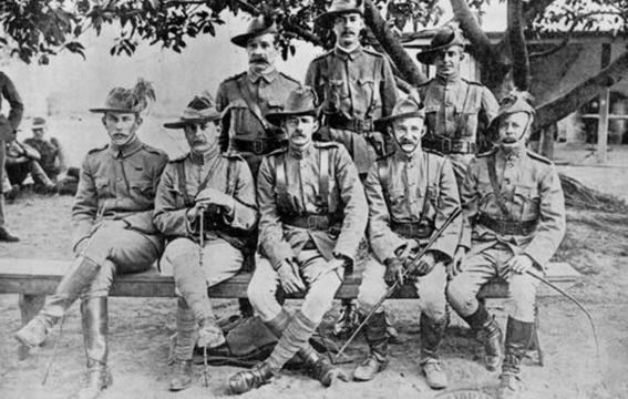 Normal 4th queensland contingent officers
