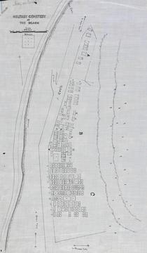 Normal beach cemetery map   anzac cove   canakkale   gallipoli  awm