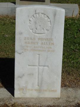Profile pic headstone   h allen sn 2559