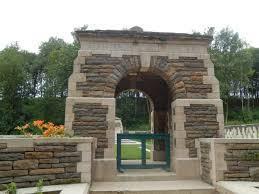 Normal becourt military cemetery