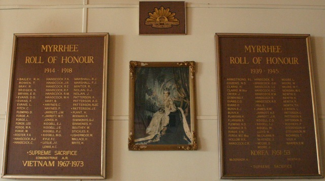Normal roll of honour myrrhee