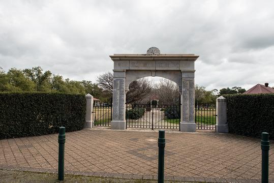 Normal memorial gates jamestown 2048