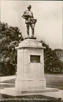 Profile pic shrewsbury school war memorial..