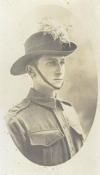 Profile pic sapper ernest booth ww1