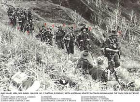 Profile pic 1943 11 08  no17 platoon d co 2 27th austn inf btn   ramu valley area   new guinea