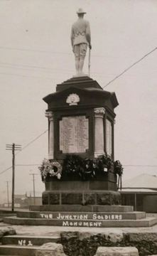 Normal junction soldiers monument