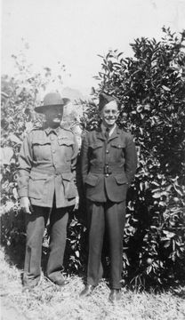 Profile pic rc gr207 charles wilfred routley with son russell charles c1942