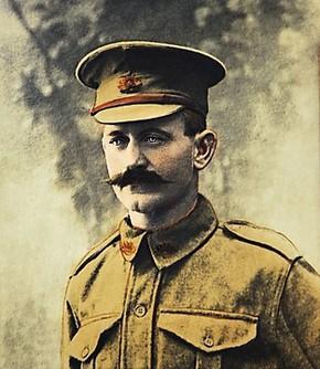 Profile pic normal pte john mccarthy 1917