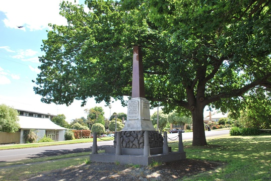 Normal hamilton boer war memorial