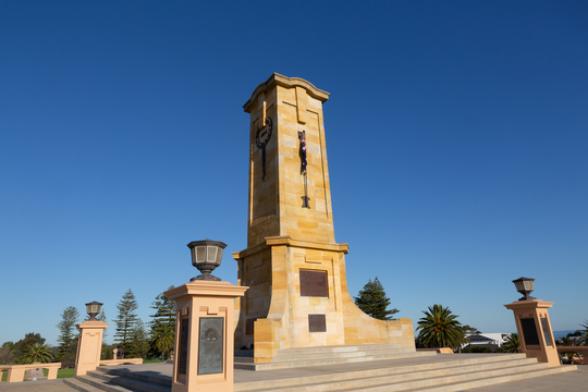 Normal fremantle war memorial site
