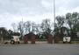 Thumb violet town war memorial gates