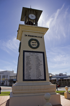 Normal war memorial located on the leeton cenotaph