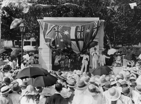Normal lossy page1 1200px opening of the townsville west state school memorial gate townsville 1921.tiff