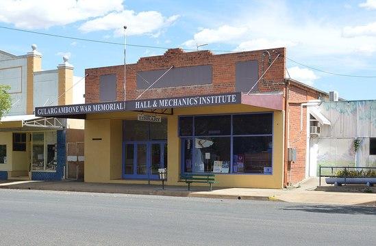 Normal gulargambone war memorial hall and school of arts 002