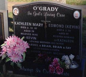 Profile pic o grady edmond kevin   cheltenham cemetery   d 6 3 2004