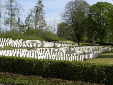 Normal contay british cemetery