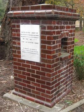 Normal memorial drinking fountain  bridgewater