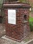 Thumb memorial drinking fountain  bridgewater