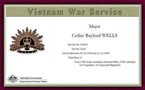 Profile pic wells cedric bayford   410610 vietnam war