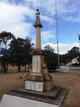 Normal maroon war memorial  from n  2015