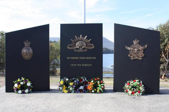 Normal claremont war memorial tas