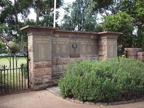 Normal eastwood war memorial