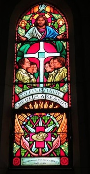 Normal st andrew s anglican church lismore nsw vietnam memorial window