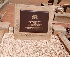 Profile pic staff sergeant a j sheehan kalgoorlie cemetery