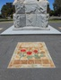Thumb ph0908 01 wlmg c armistice centenary upgrade   and in the morning   with cenotaph behind   mosaic art installation   for w e