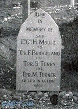 Profile pic gallipoli grave august 1915