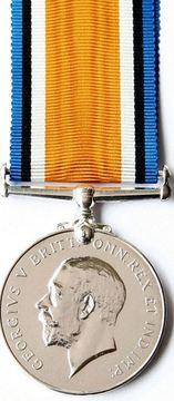Profile pic british war medal