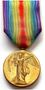 Thumb victory medal