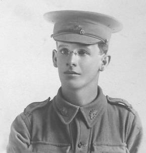 Profile pic pte charles edward bingham 1914