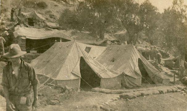 Normal australian 7th field ambulance at chalk hill gallipoli   ww1 24499749219 o