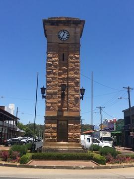 Normal coonabarabran war memorial clock tower   3