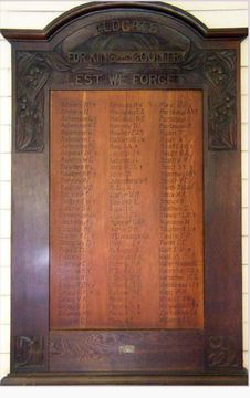 Normal aldgate honour roll
