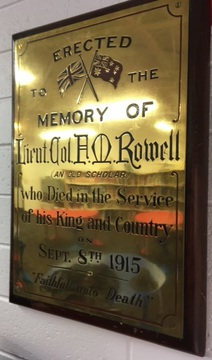 Normal frank rowell memorial