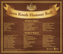 Thumb iron knob honour roll